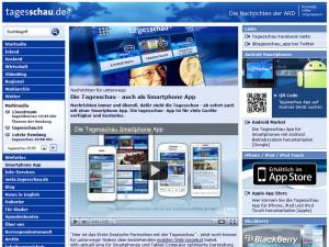 Screenshot: tagesschau.de/app/