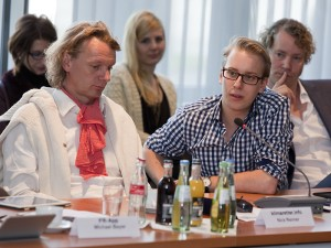 Tim Klimeš (r); Foto: Jens Becker