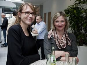 Nadine Roßa (l); Foto: Jens Becker