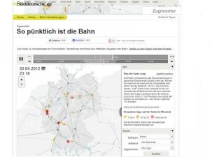Screenshot: zugmonitor.sueddeutsche.de