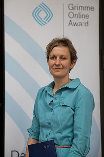Anna Steinbach, Autorin Foto: Grimme-Institut / Arkadiusz Goniwiecha