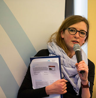 Pia Frey Foto: Grimme-Institut / Arkadiusz Goniwiecha