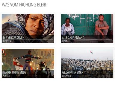 """Screenshot """"Arabellion: Was vom Arabischen Frühling bleibt"""""""