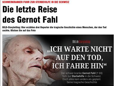 """Screenshot """"Die letzte Reise des Gernot Fahls"""""""