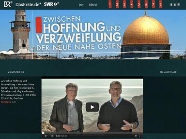 """Screenshot """"Zwischen Hoffnung und Verzweiflung – der neue Nahe Osten"""""""