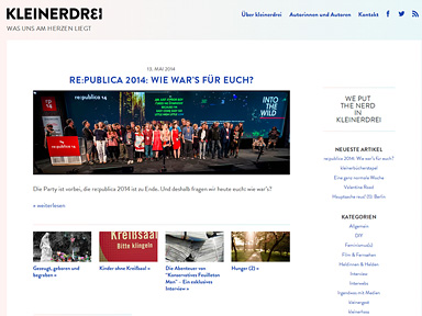 "Screenshot ""kleinerdrei"""