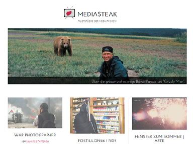 """Screenshot """"Mediasteak"""""""