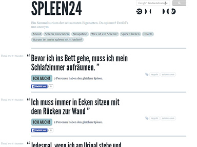 "Screenshot ""Spleen24"""