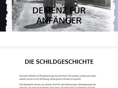 "Screenshot ""Demenz für Anfänger"""
