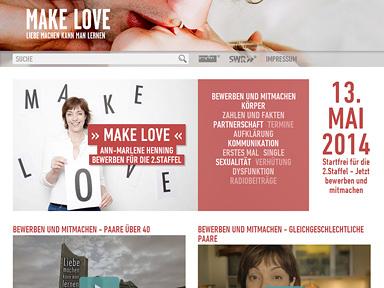 """Screenshot """"Make Love"""""""