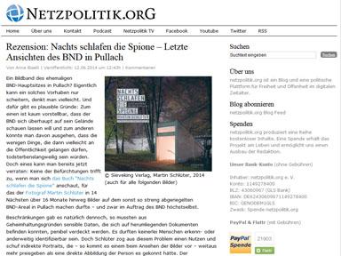"""Screenshot """"Netzpolitik"""""""