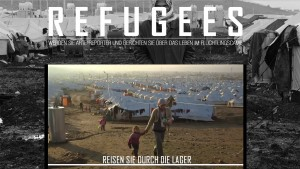 "Screenshot des Angebotes ""Refugees"" von ARTE."