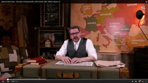 """Christoph Krachten im YouTube-Kanal """"Der Erste Weltkrieg""""."""