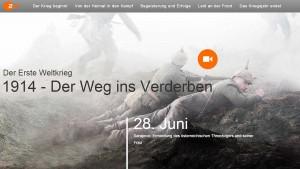 """Screenshot von """"1914 - Der Weg ins Verderben"""""""