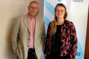 "Christina Schmidt & Philipp Maußhardt  vom Projekt ""Apropos Kosovo"""