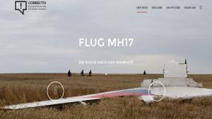 """Screenshot """" MH17 - Die Suche nach der Wahrheit"""""""