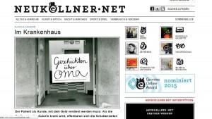 """Screenshot """"neukoellner.net"""""""