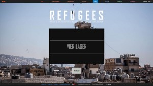 "Screenshot ""Refugees – 4 Monate, 4 Camps"""