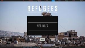 "Screenshot ""Refugees – 4 Monate, 4 Camps"""
