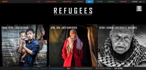 "Screenshot zum Spiel ""Refugees – 4 Monate, 4 Camps"""