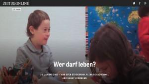 """Screenshot """"Wer darf leben?"""""""