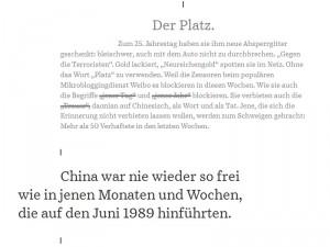 """Screenshot """"Trauern verboten"""""""