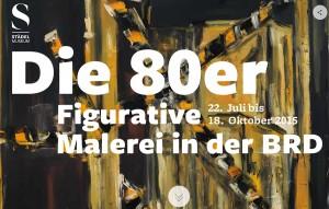 Screenshot des Digitorials zur Malerei der 1980er Jahre vom Städel Museum