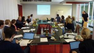 Die Teilnehmer beim BRICks-Roundtable-Gespräch.