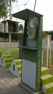 Telefonzelle im Iran. Foto: Vera Lisakowski
