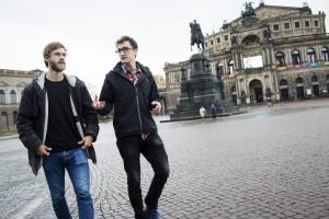 Gründer Alexej Hock (l.) und Johannes Filous. Foto: Jan Zappner