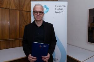Andreas von Bubnoff bei der Nominierung für den Grimme Online Award 2016. Foto: Grimme-Institut / Rainer Keuenhof