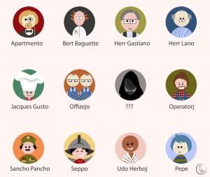 Charaktere, die Johannes spricht; Foto: Puerto Patida