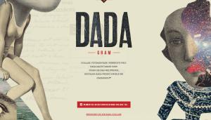 """Screenshot: Aufruf zum """"Dada-Gram"""": Instagram-Nutzer können Fotos hochladen, die zu einem großen Dada-Kunstwerk verschmelzen."""