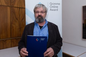 Stephan Morgenstern bei der Nominierung für den Grimme Online Award 2016. Foto: Grimme-Institut / Rainer Keuenhof