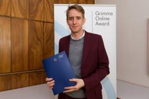 Axel Braun bei der Nominierung für den Grimme Online Award 2016. Foto: Grimme-Institut / Rainer Keuenhof