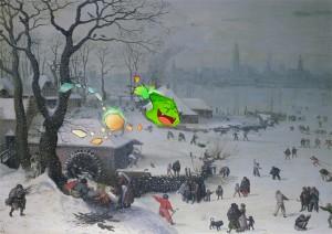 Flux begleitet die Spieler durch die Welten der Bilder. Foto: Städel Museum