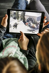 Das Spiel ist interaktiv und soll die Neugierde auf Kunst wecken. Foto: Städel Museum