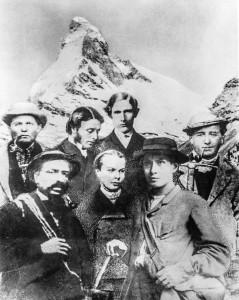 Die am Abend vor der Besteigung zufällig zusammengewürfelte Bergsteiger-Truppe. Foto: Zermatt Tourismus