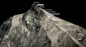 Screenshot: Interaktive Elemente ermöglichen die Standortbestimmung der unterschiedlichen Ereignisse auf dem Berg.