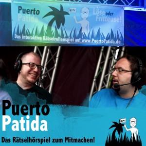 Liveauftritt auf dem Podstock; Foto: Puerto Patida
