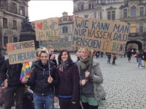Homophobie ist heilbar. Foto: Nollendorfblog / Johannes Kram