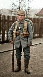Opa Franz Mack während des 1. Weltkriegs. Foto: Opas Krieg