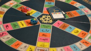 """Trivial Pursuit"" Spielbrett"