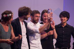 """Die Gewinner vom Projekt """"dekoder"""": Foto: Arkadiusz Goniwiecha"""