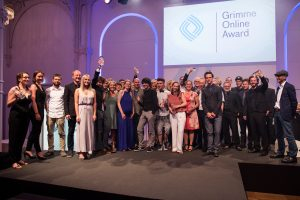 Alle Preisträger des Grimme Online Award 2016; Foto: Arkadiusz Goniwiecha