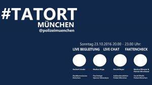 Screenshot – Polizei München twittert zum Tatort