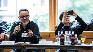 André Pätzold von der Berliner Morgenpost, Ulli Köppen von BR Data