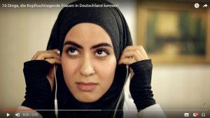 """Der Screenshot aus dem Beitrag """"16 Dinge, die Kopftuchtragende Frauen in Deutschland kennen!"""" der Datteltäter."""
