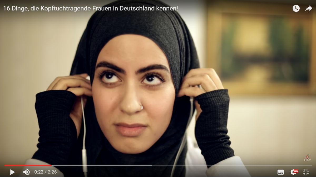 Der Screenshot zu einem Videobeitrag der Datteltäter