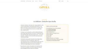 Screenshot: Auszug aus einer Opernempfehlung
